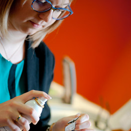 Julie Pilliet, opticienne diplômée